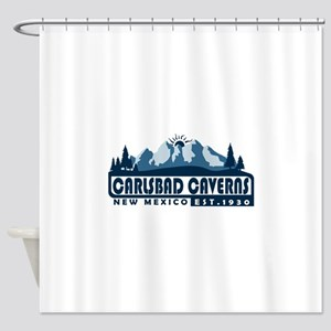 Carlsbad Caverns - New Mexico Shower Curtain