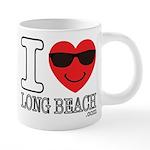 I Love Long Beach Mugs