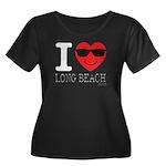 I Love Long Beach Plus Size T-Shirt