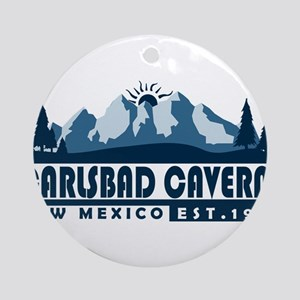 Carlsbad Caverns - New Mexico Round Ornament