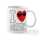 I Love Laguna Beach Mugs