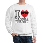 I Love Laguna Beach Sweatshirt