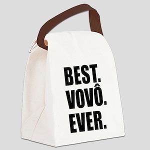 Best Vovo Ever Grandpa Canvas Lunch Bag
