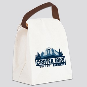 Crater Lake - Oregon Canvas Lunch Bag