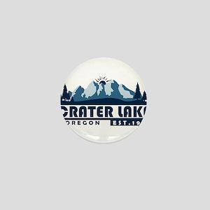Crater Lake - Oregon Mini Button