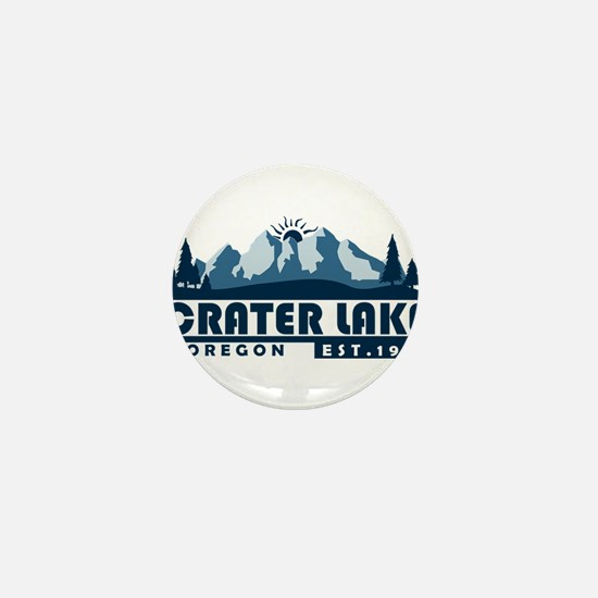 Crater Lake - Oregon Mini Button