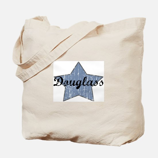 Douglass (blue star) Tote Bag