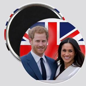 Prince Harry and Meghan Markle Magnets