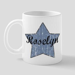 Roselyn (blue star) Mug