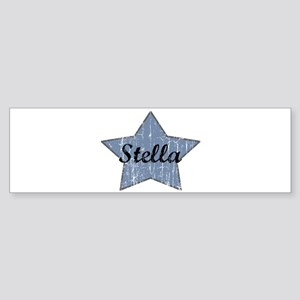 Stella (blue star) Bumper Sticker