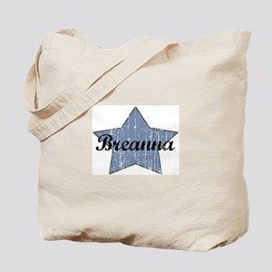 Breanna (blue star) Tote Bag