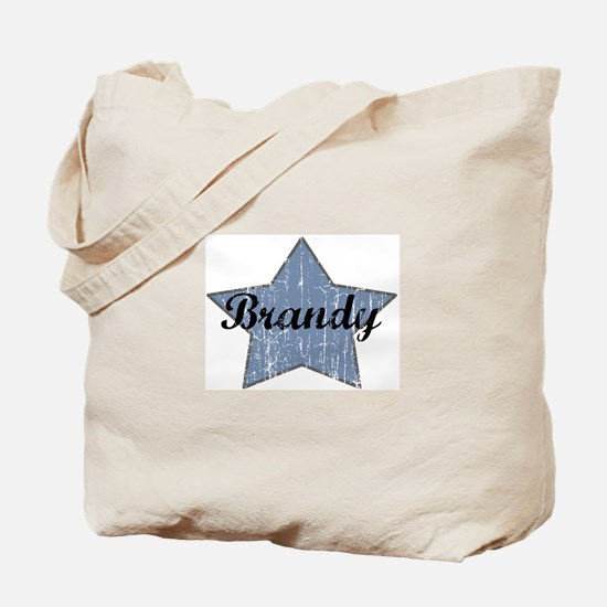 Brandy (blue star) Tote Bag
