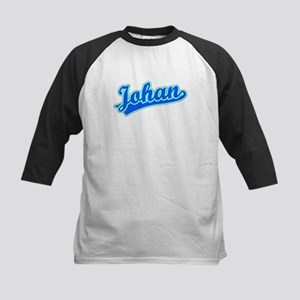 Retro Johan (Blue) Kids Baseball Jersey
