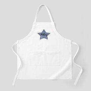 Riley (blue star) BBQ Apron