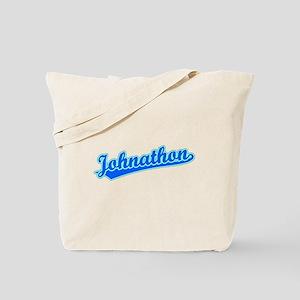 Retro Johnathon (Blue) Tote Bag