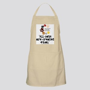 All cats created equal BBQ Apron