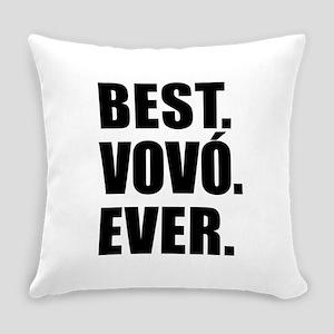 Best Vovo Ever (Grandma) Drinkware Everyday Pillow