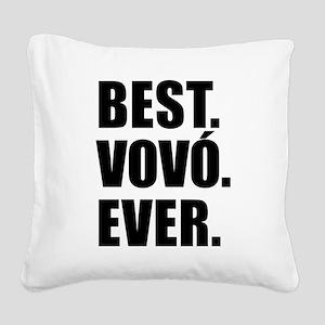 Best Vovo Ever (Grandma) Drinkware Square Canvas P