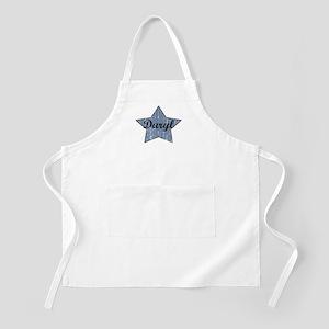 Daryl (blue star) BBQ Apron