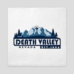 Death Valley - California, Nevada Queen Duvet