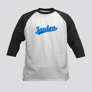Retro Jordon (Blue) Kids Baseball Jersey