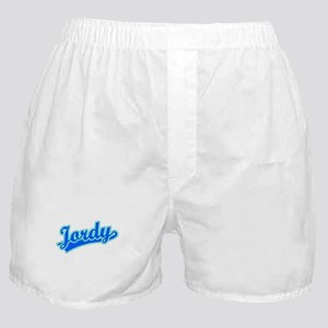 Retro Jordy (Blue) Boxer Shorts