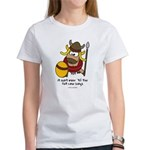 fat cow sings Women's T-Shirt