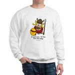 fat cow sings Sweatshirt