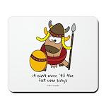 fat cow sings Mousepad