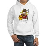 fat cow sings Hooded Sweatshirt