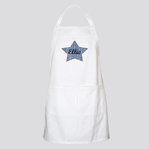 Ellie (blue star) BBQ Apron