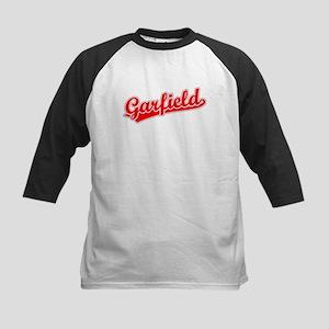 Retro Garfield (Red) Kids Baseball Jersey