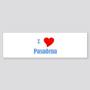 I Love Pasadena Bumper Sticker (10 pk)