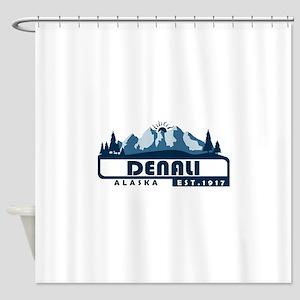 Denali - Alaska Shower Curtain