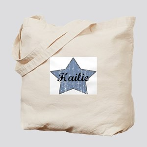 Hailie (blue star) Tote Bag