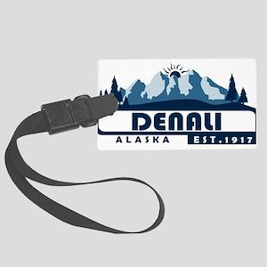 Denali - Alaska Large Luggage Tag