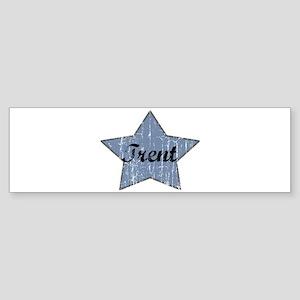 Trent (blue star) Bumper Sticker