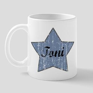 Toni (blue star) Mug