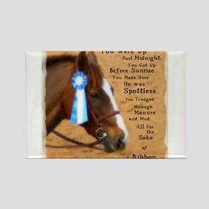 All For A Ribbon Horse Magnets
