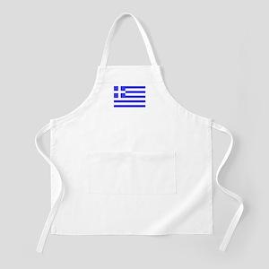 Flag of Greece 5 BBQ Apron