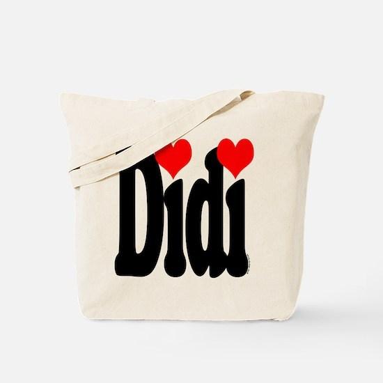 I love Didi Tote Bag