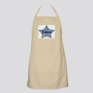 Janae (blue star) BBQ Apron
