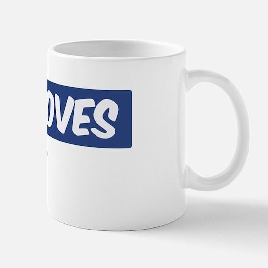 Jesus Loves Tre Mug