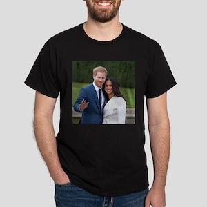HRH Prince Harry and Meghan Markle Royal W T-Shirt