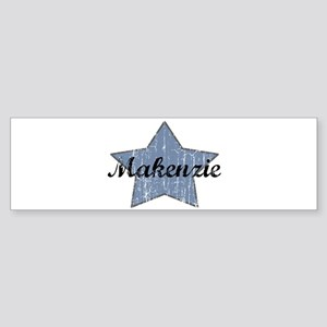 Makenzie (blue star) Bumper Sticker