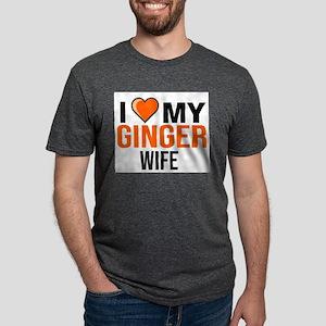 I LOVE MY GINGER WIFE WOMAN GIRL FUNNY GIR T-Shirt