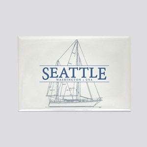 Seattle Sailing Magnets