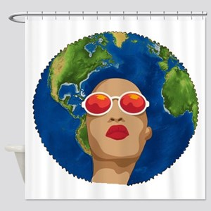 african mother earth day Shower Curtain