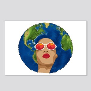 african mother earth day Postcards (Package of 8)