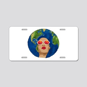 african mother earth day Aluminum License Plate